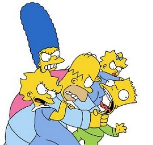 Simpsons_Fight